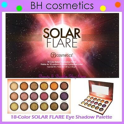 Solar Flare - 18 Color Baked Eyeshadow Palette by BH Cosmetics #19