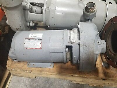 Gossett 1531 Pump US Motors 3hp 3 phase 145JM #1082SR