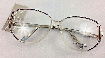 Vintage Eyewear - Jacques Fath 87220  54-19 glasses frames - Hand made in Paris