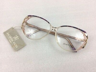 Vintage Eyewear - Jacques Fath 54-18 glasses frames - Hand made in Paris