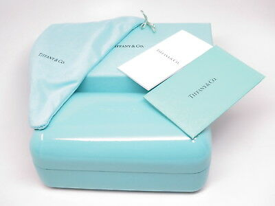 Authentic Tiffany & Co Box, Hard Case, Cloth, Pouch & Booklets for Sunglasses