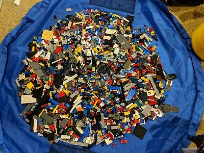 Lot of 7.5+ lbs of bulk loose lego parts mixed as pictured