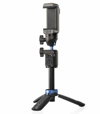 Sirui Table Tripod Ball Head, Cell Phone Grip, Selfie Stick, Bluetooth Trigger