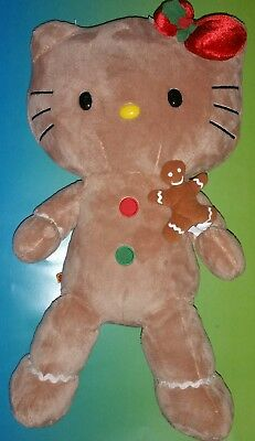 Build a Bear Hello Kitty Gingerbread Doll Teddy Scented Cookie 18in. Stuffed