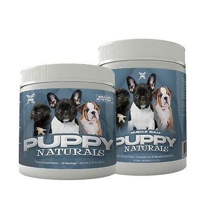 Puppy Naturals By Muscle Bully (60 Servings)