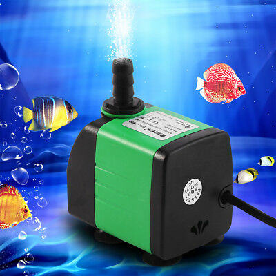 3/5/8/15/20W 220V Pompe à eau Submersible Fish Tank Aquarium Étang Fontaine