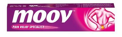 5 tubes Moov Ointment - 25 g for pain in joints oil of wintergreen eucalyptus oi