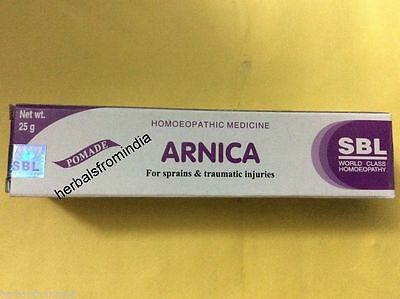 Sbl Homeopathy Arnica Pomade Ointment 25 Gm