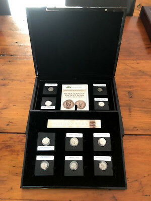 Silver Coins of Ancient Rome Complete Collection of 12 - Macquarie Mint