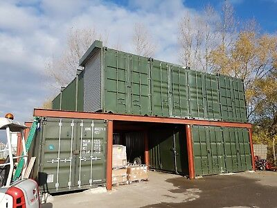 40ft x 32ft Shipping Container Conversion - Workshop Store