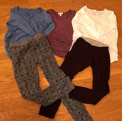 Womans Maternity Mixed Lot: Size L & Xl