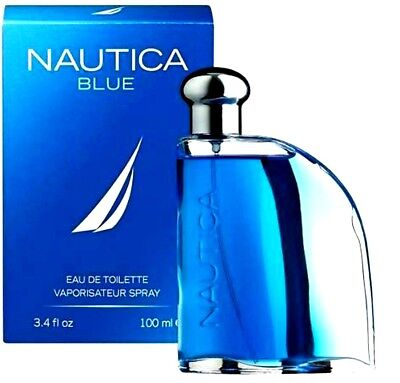 NAUTICA BLUE Cologne Perfume Men 3.4 oz 100 ml Eau de Toilette Spray NEW IN BOX