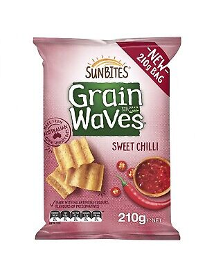 Grainswaves Sweet Chilli 210g