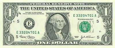 2003 series E/A (RICHMOND) $1 Federal Reserve Note One Dollar Bill