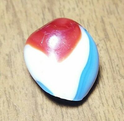 《EXOTIC》 LIBERTY ODDITY Vintage Akro Agate Marble Scrap Glass Gift RARE 0.2 OZ