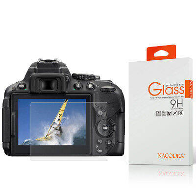 Nacodex HD Tempered Glass Screen Protector For Nikon D850