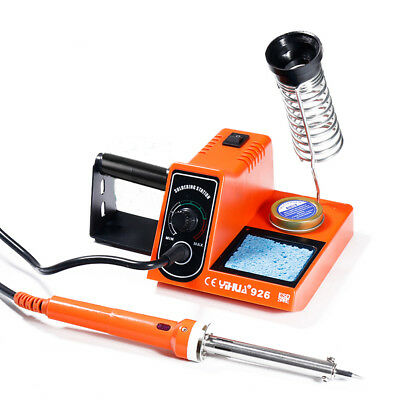 New 60W Soldering Iron Station Rework Kit Variable Temperature Stand Digital LED