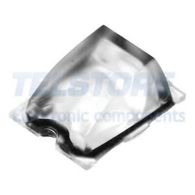 2pcs  Lentille LED rectangulaire Mat PMMA plexiglass transparent
