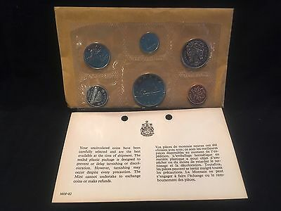 1969 Canada Uncirculated Proof Like Mint Set with Original Envelope