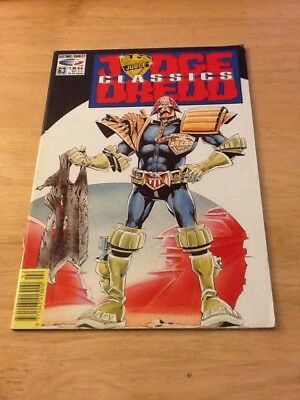JUDGE DREDD CLASSICS	No.	63 US COMIC Fleetway