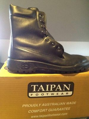ADF surplus issue taipan boots sizes 7 -13 full leather Aust Made new
