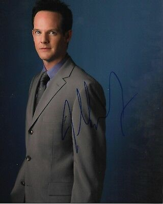 Television Entertainment Memorabilia Jason Gray Stanford W/ Coa Signed 8x10 Autograph Photo Monk