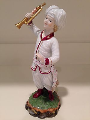 Hochst Trumpet Player Figurine Made In Germany New
