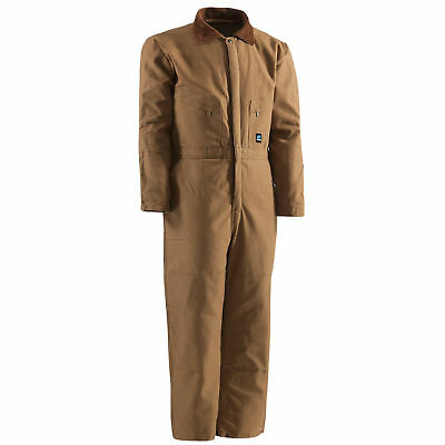 Berne Unisex Brown Duck 100% Cotton Youth Insulated Coverall