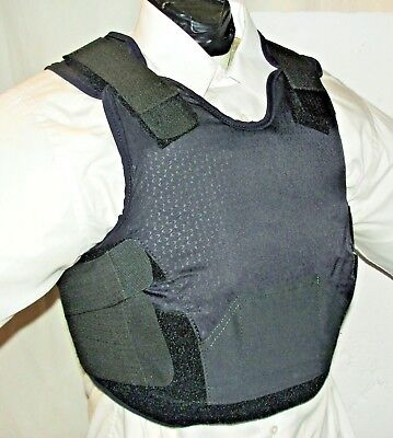 Female IIIA BulletProof Concealable Body Armor Carrier Vest with Inserts