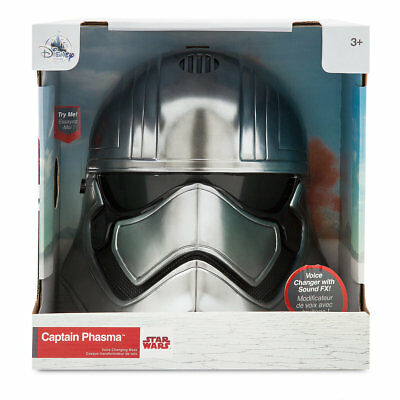 Disney Store CAPTAIN PHASMA Voice Changing Talking Helmet Mask Star Wars 2017