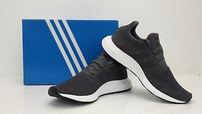 Adidas Originals Men's Swift Run Shoes Grey/White CG4116 - BRAND NEW IN BOX!