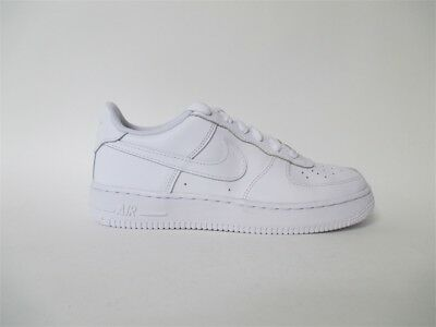 Nike Air Force 1 Low All White Everything GS Grade School Sz 5.5 314192-117