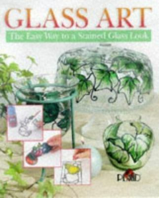 Glass Art: The Easy Way to a Stained Glass Look, Plaid, 0806981733, Book, Good