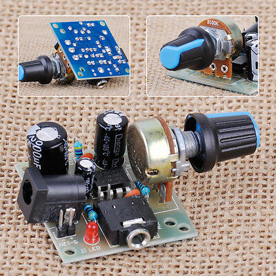 LM386 Audio Power Amplifier Board Mini Micro AMP Module DIY Adjustable Volume