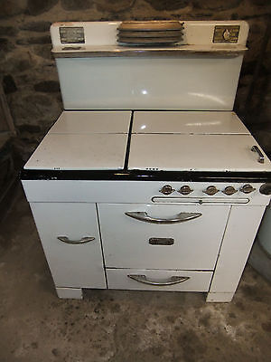 Antique Kalamazoo Porcelain Cast Iron Gas Oven-*LOCAL pick up*-series AB7