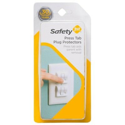 Safety 1st Wall Outlet Press Tab Plug Protectors (2 pieces)