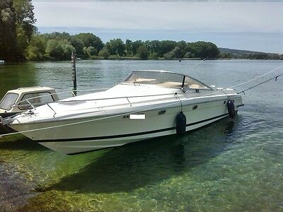 CRANCHI 31 ENDURANCE 520PS 10M x 2,80M MOTORBOOT BODENSEEZULASSUNG BODENSEE