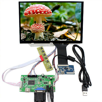 "HDMI VGA LCD Controller Board 10.1"" B101UAN01.A 1920x1200 Capacitive Touch Panel"
