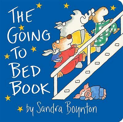 Going to Bed Book: Lap Edition by Sandra Boynton - Hardback - NEW - Book
