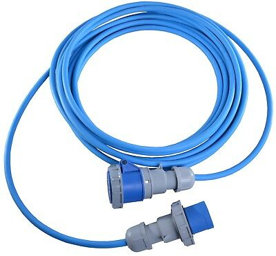 All Lengths 16 AMP 240V IP67 Rated Waterproof Hook Up Lead 16A Boat Marina Mains