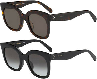 Celine Baby Marta Women's Rounded Oversize Sunglasses 41385S - Made In Italy