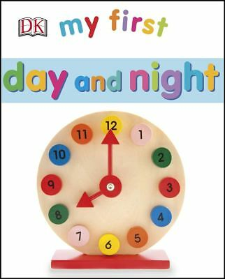 My First Day & Night by DK - Board Book - NEW