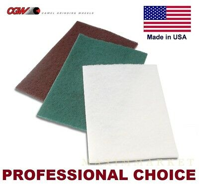 "6"" X 9"" Scotch-Brite Non-Woven Surface Conditioning Pads"