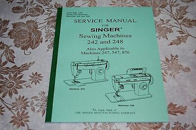 Singer Sewing Machines 6230 6231 6232 6233 6234 6235 6236 Service Manual on CD
