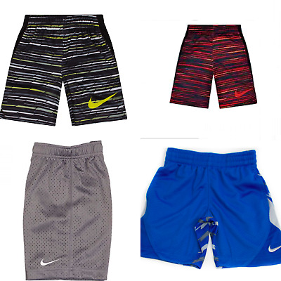 New Nike Boys Dri Fit Athletic Shorts Size 4, 5, 6, Small