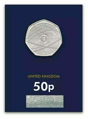 Sir Isaac Newton 2017 50p Fifty Pence Uncirculated Coin ( UK free post )