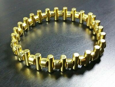 Neodymium Magnet Bracelet Strong Rare Earth Magnetic Healing Gold Plated