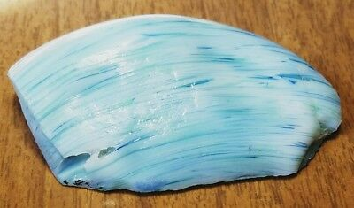 ☆TROPICAL☆ 3 COLOR SWIRL Akro Agate Marble Cullet Scrap Glass Craft RARE 2.4 OZ
