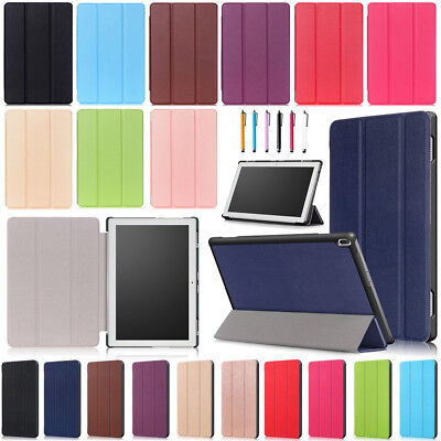 For Lenovo TAB 4 8 TB-8504F/N (2017) Magnetic Folio Stand PU Leather Case Cover