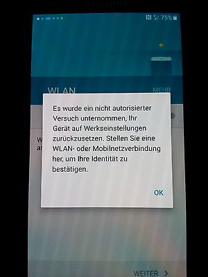 Samsung galaxy s5 s6 s7  edge google account lock sperre entfernen Konto